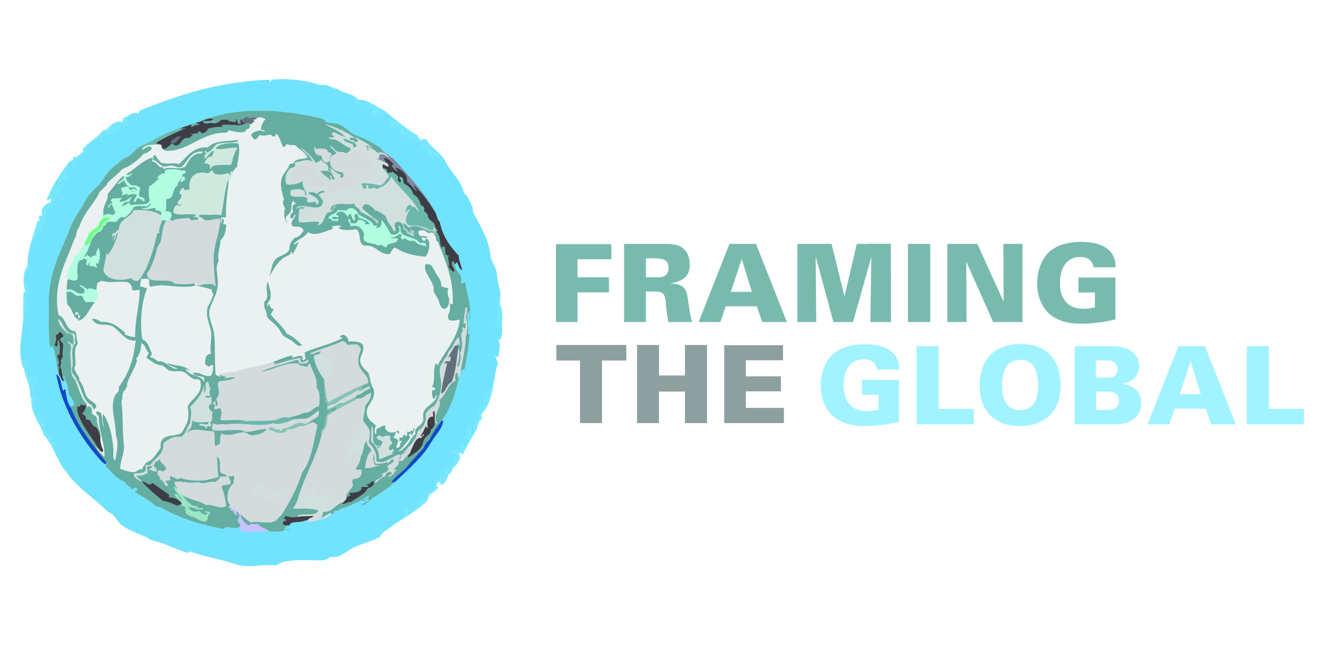Globe with Framing the Global